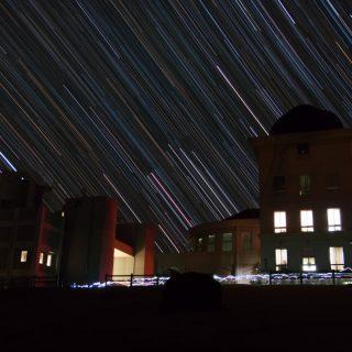 20130112-西はりま天文台に沈むオリオン座
