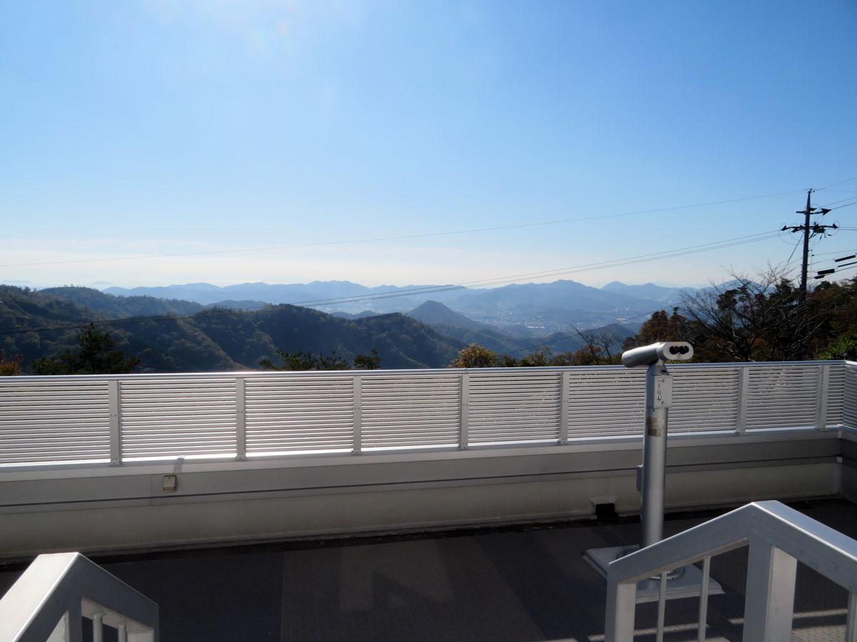 岡山天文博物館 2F バルコニー