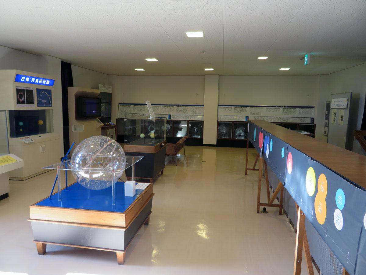 岡山天文博物館 2F 展示室