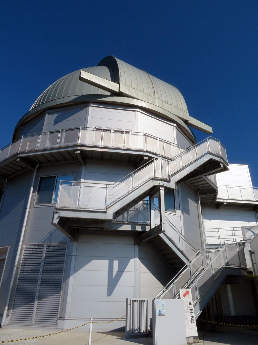 京都大学 岡山天文台 せいめい望遠鏡ドーム