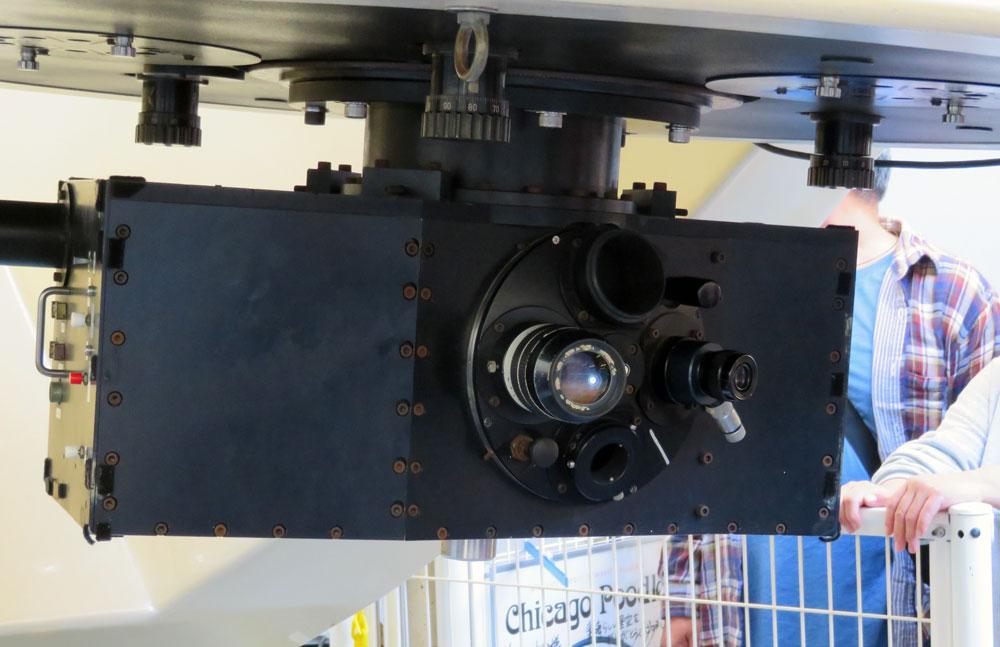 美星天文台 101cm望遠鏡 接眼部