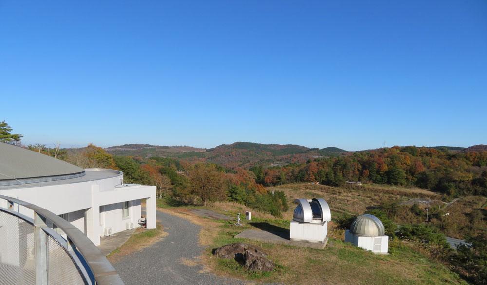 美星天文台 2階からの眺め