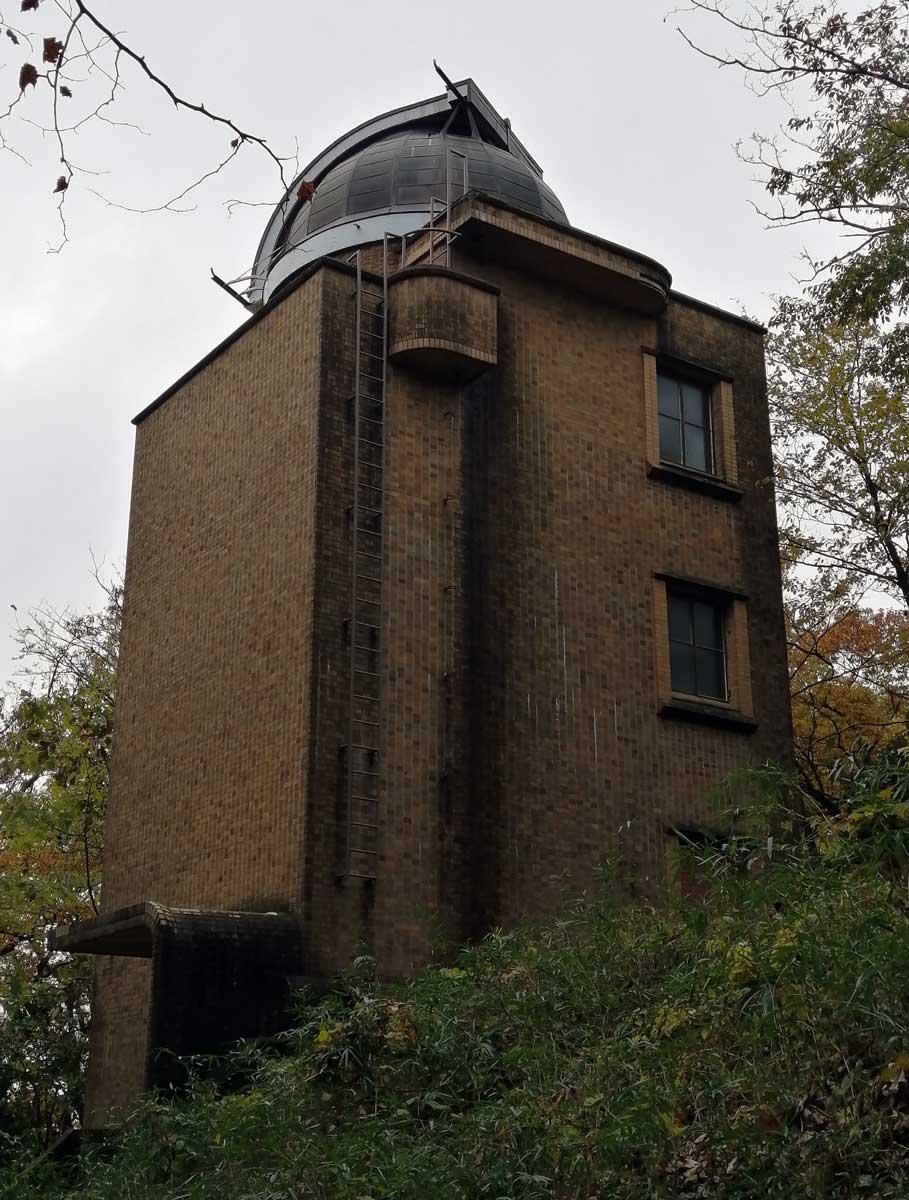 国立天文台 三鷹キャンパス 太陽塔望遠鏡