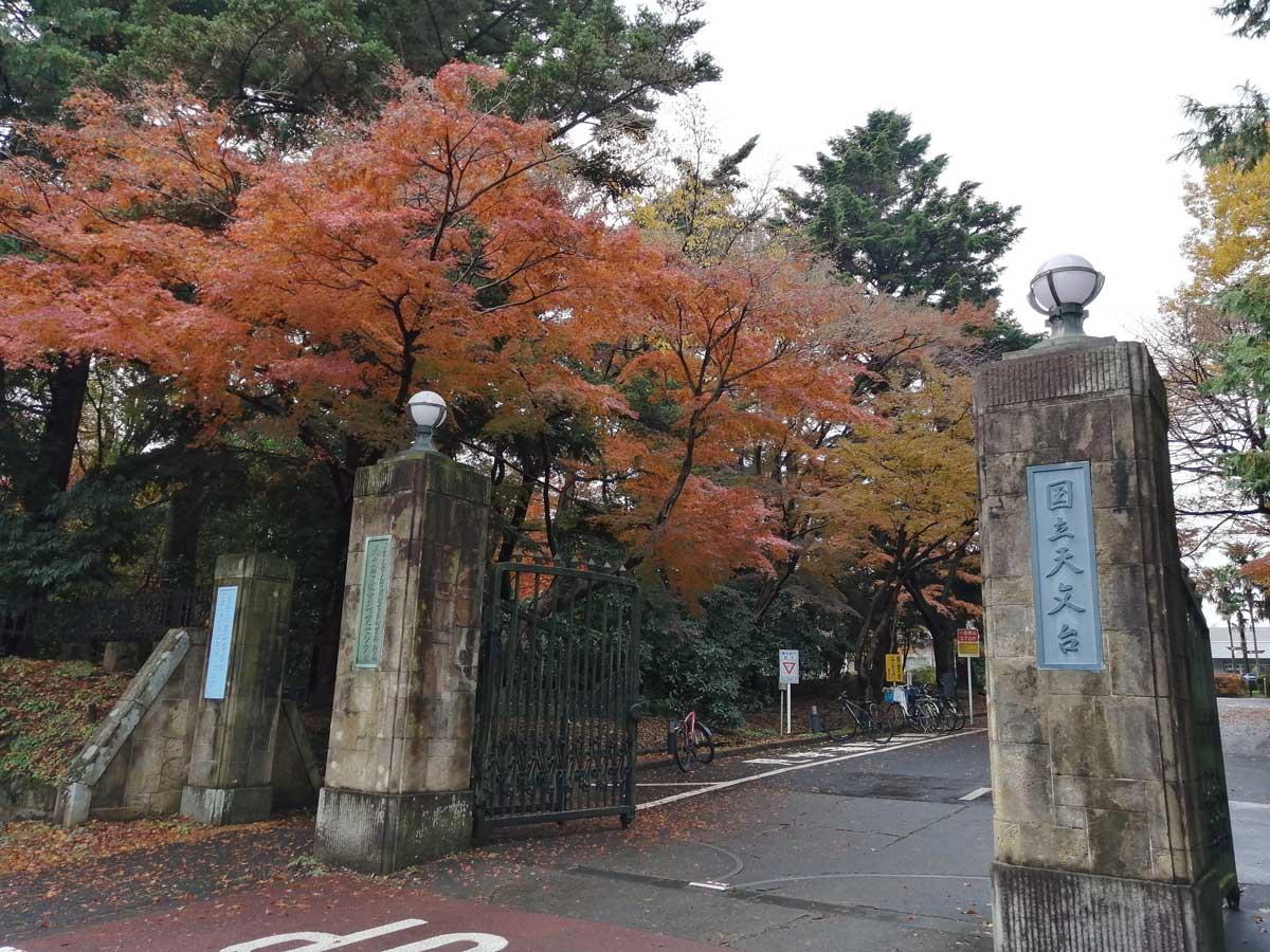 国立天文台 三鷹キャンパス 正門
