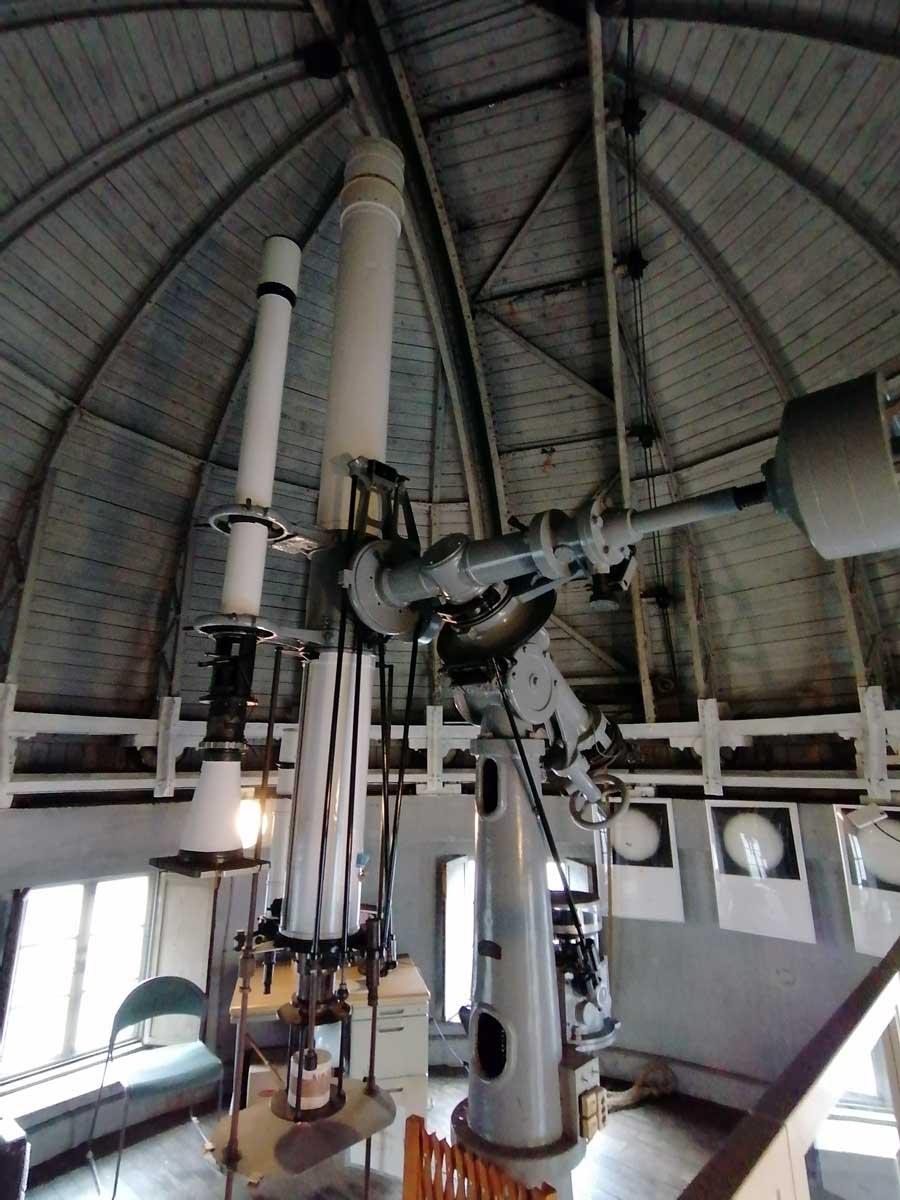 国立天文台 三鷹キャンパス カールツァイス 20cm屈折赤道儀