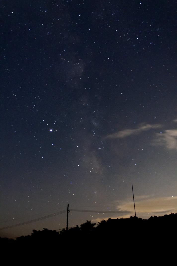 恋する小惑星第1話冒頭と同じ時期の木星といて座