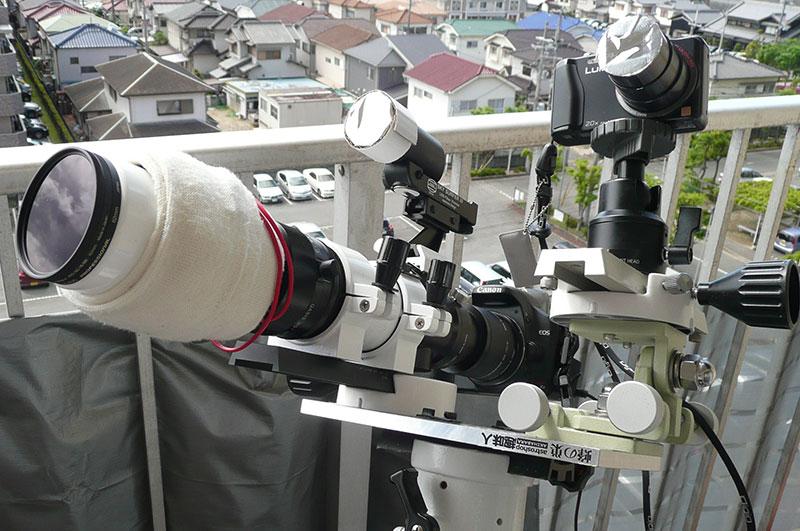 金環日食の撮影機材検討