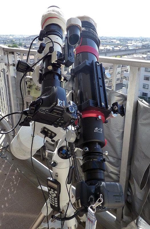 金星の太陽面通過撮影機材