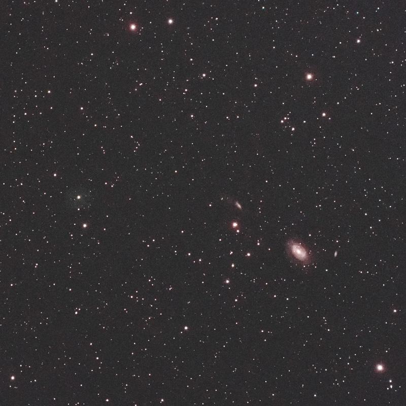 かみのけ座の惑星状星雲 LoTr 5 ( Longmore-Tritton 5 )と系外銀河NGC4725
