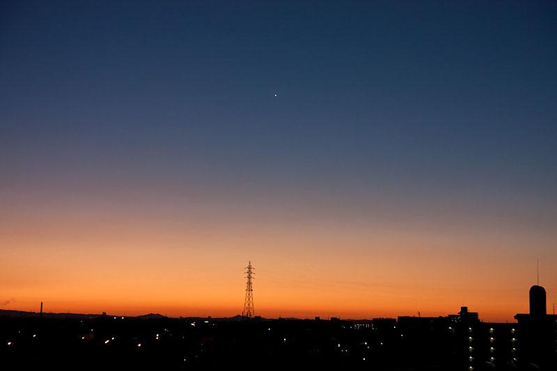 明けの明星 2010/11/11