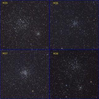 散開星団M35~M38