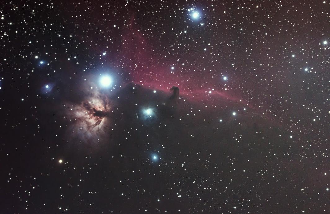 馬頭星雲(オリオン座)