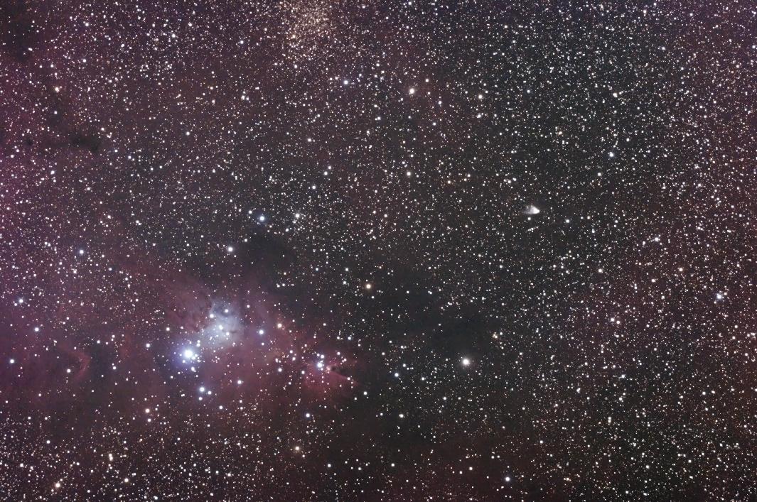 NGC2264 クリスマスツリー星団