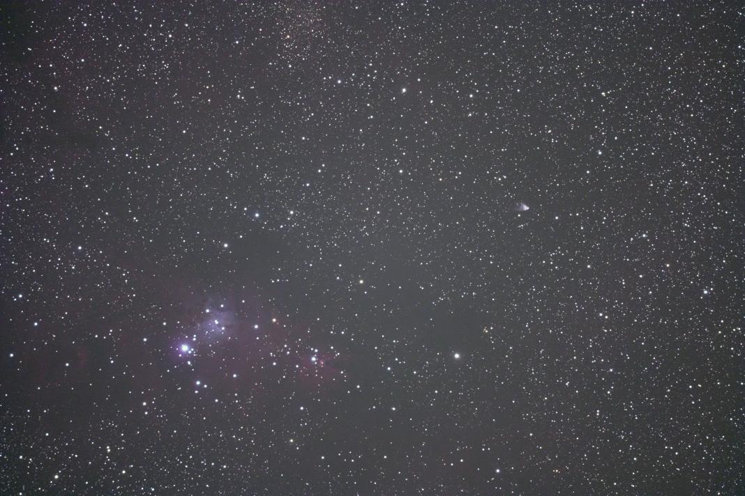 NGC2264(クリスマスツリー星団)&ハッブルの変光星雲