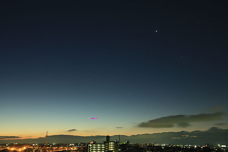 水星 2011/1/17 6:15