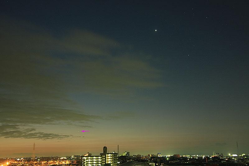 水星 2011/1/18 6:12