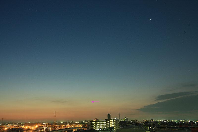 水星 2011/1/20 6:17