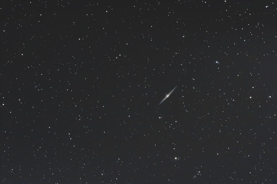 NGC4565 トリミング無しで25%に縮小