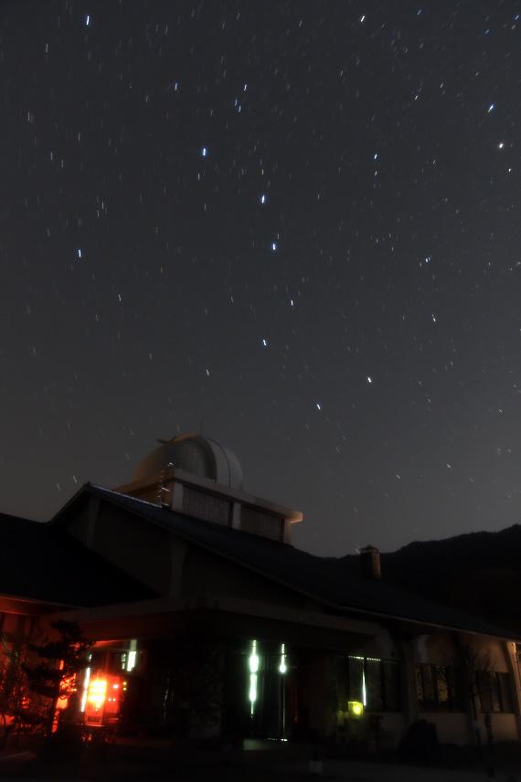 佐治天文台と北斗七星