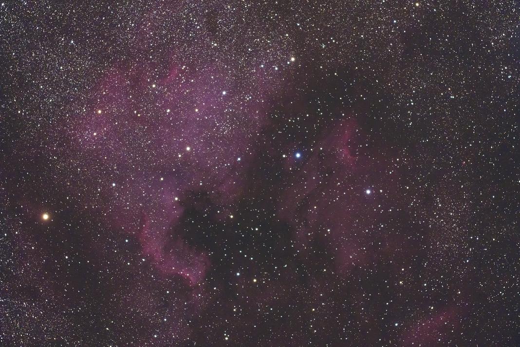 北アメリカ星雲とペリカン星雲