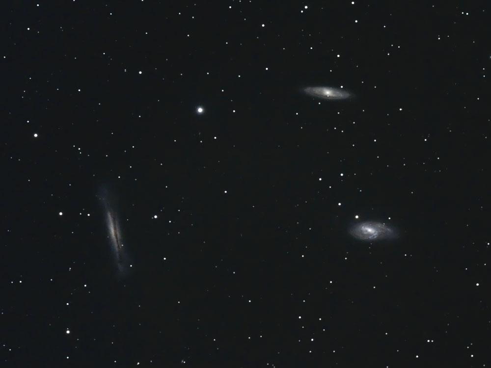 しし座の銀河トリオM65-M66-NGC3628
