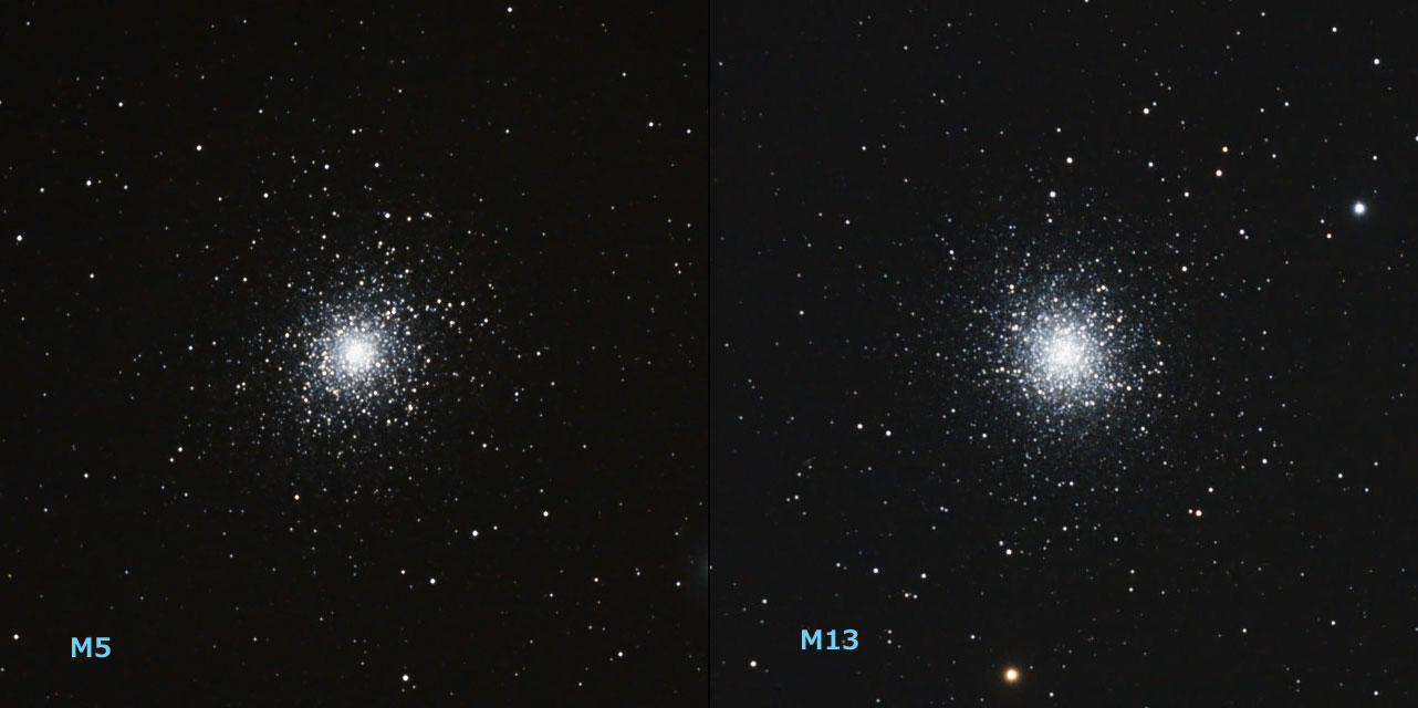 M5とM13の比較