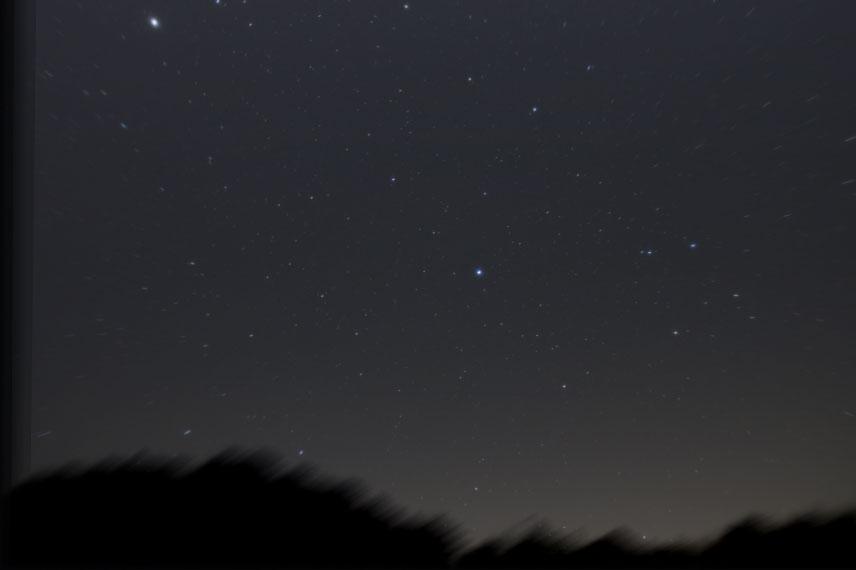 25コマを星の位置基準で加算平均