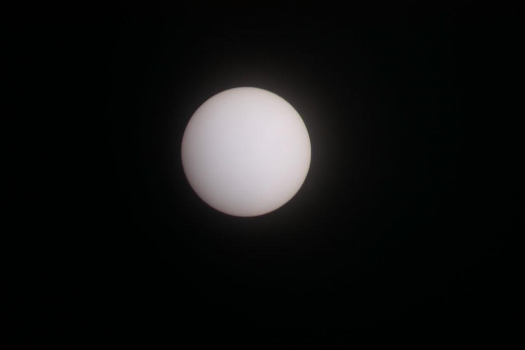 2009/6/28 11:24の太陽面
