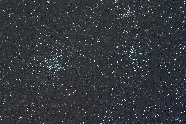 とも座の散開星団 M46, M47