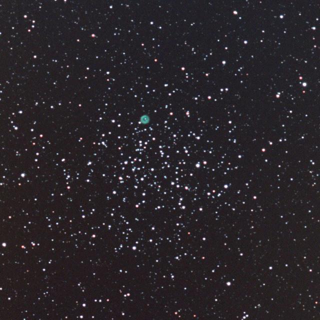 M46&NGC2438(ED100Sf直焦点)