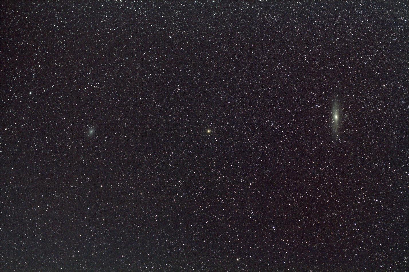 M31とM33(加工)