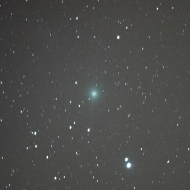 ルーリン彗星(C/2007 N3)・2009/2/7 5:26・てんびん座を通過中・光度6.1等