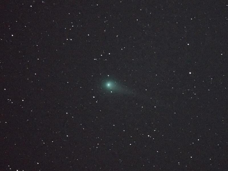ルーリン彗星(C/2007 N3)・2009/2/25 21:52・しし座を通過中・光度5.2等