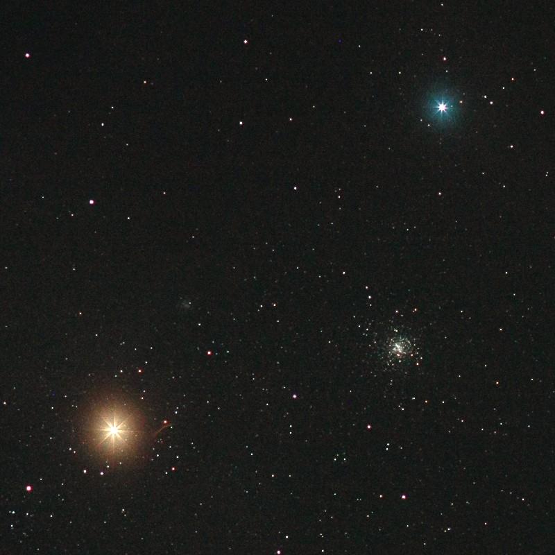 アンタレスと散開星団M4