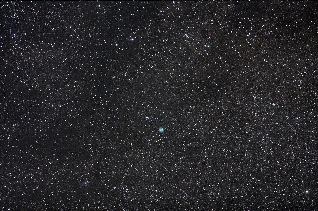 M27(あれい星雲)・Kiss X2・200mm望遠