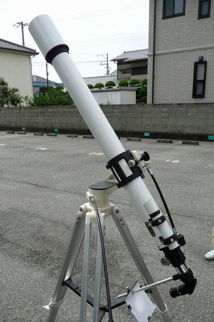 日食投影用機材