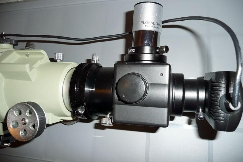 フリップミラーの光路長短縮