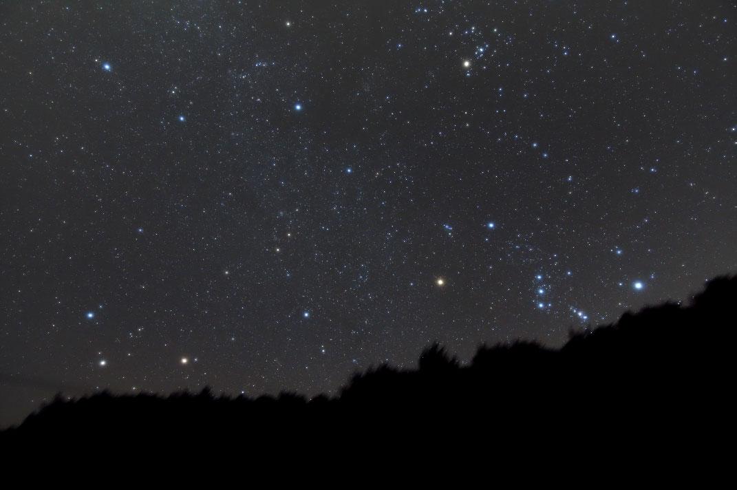昇る冬の星座(1:33)