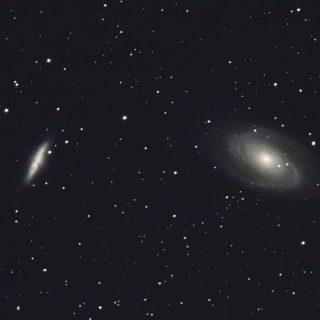 系外銀河M81とM82