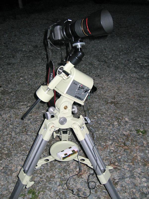 ケンコー スカイメモR(ポータブル赤道儀)