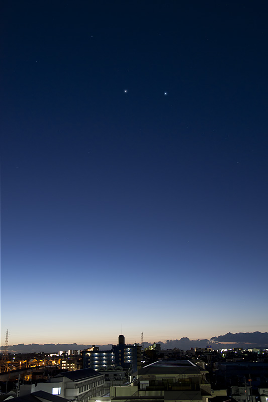 2011/12/4 土星とスピカ