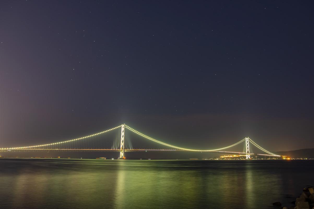明石海峡大橋(フィルターなし)