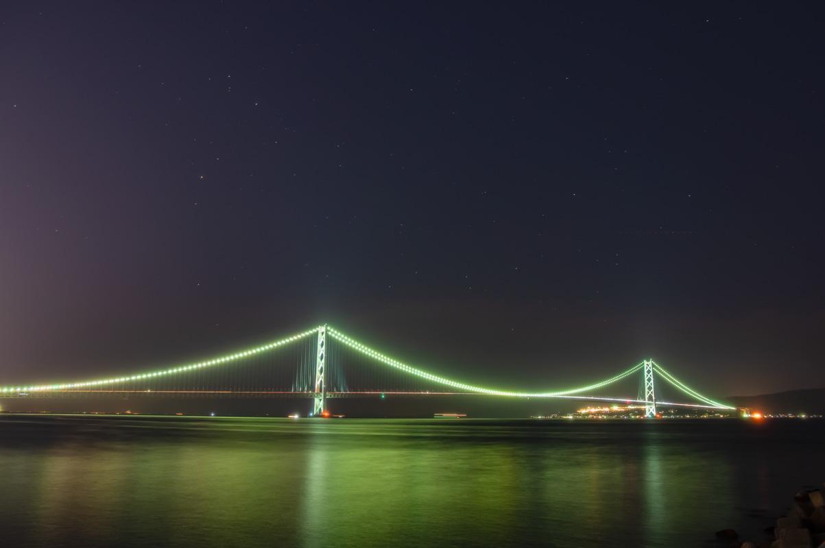明石海峡大橋(プロソフトンクリア+スターリーナイト)