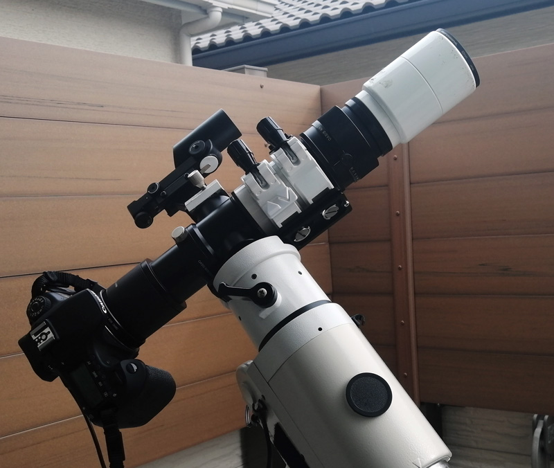 日食撮影用機材