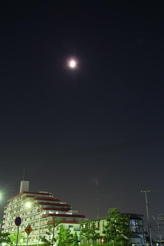 月とスピカと土星