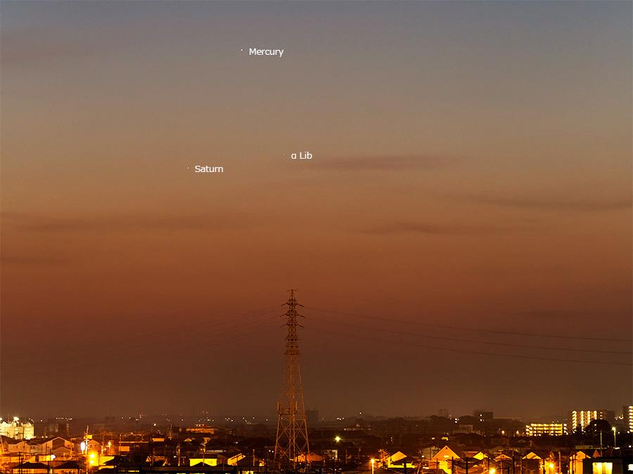 水星・土星