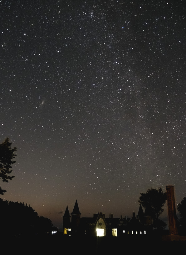 ウェスパ椿山の星空(秋の天の川)