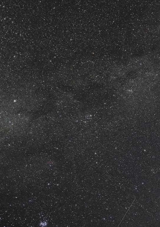 ウェスパ椿山の星空(ペルセウス座)