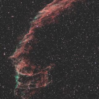 NGC6992 網状星雲(東)