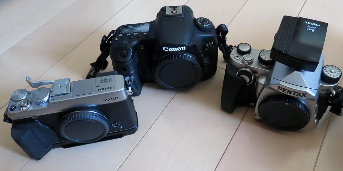 手持ちカメラの例